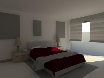 Bedroom 40D 40DS Model For 40D Studio Max Designs CAD Enchanting Designs For Bedroom Model