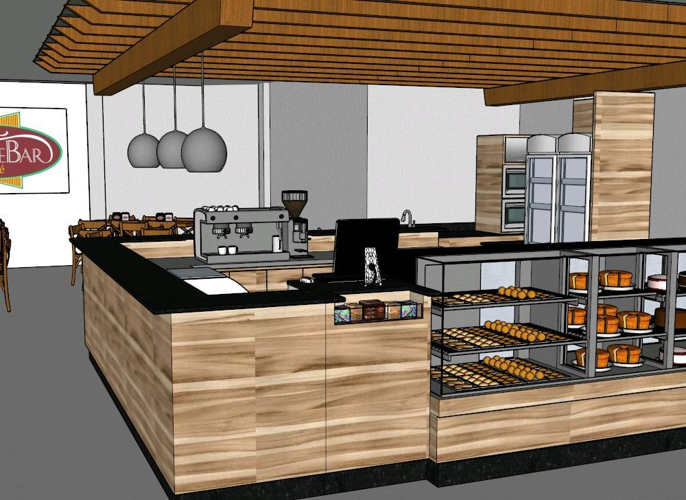 Bulevar Cafe 3d Skp Detail For Sketchup