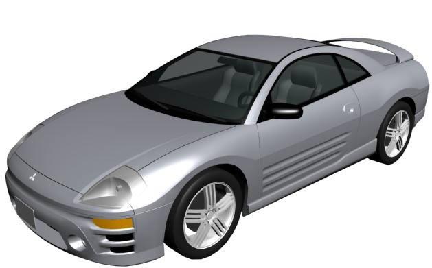 Car Modeling Max 3D MAX Model for 3D Studio Max