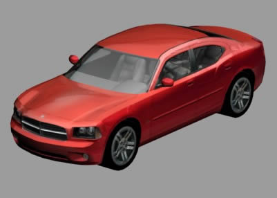 Charg – Car 3D MAX Model for 3D Studio Max