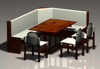 Corner Sofa Dining Table Max Model