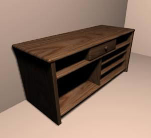 simple tv tables 3d max model for 3d studio max designs cad. Black Bedroom Furniture Sets. Home Design Ideas