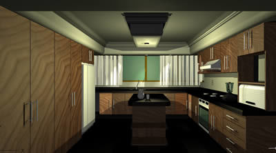 Modular Kitchen 3d Dwg Model For Autocad Designs Cad