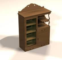 Modular Kitchen Cabinet 3d Max Model For 3d Studio Max Designs Cad