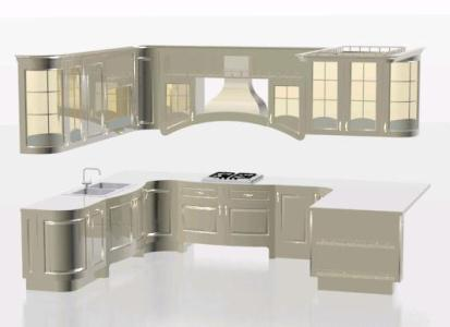 Outstanding Kitchen Cabinet 3D Max Model For 3D Studio Max Download Free Architecture Designs Scobabritishbridgeorg