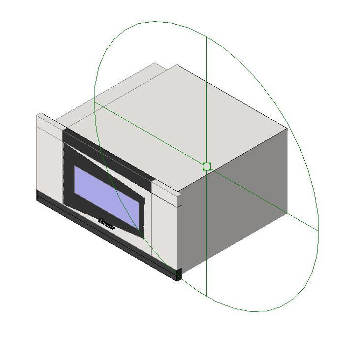 Microwave Oven 3D RFA Model • Designs CAD