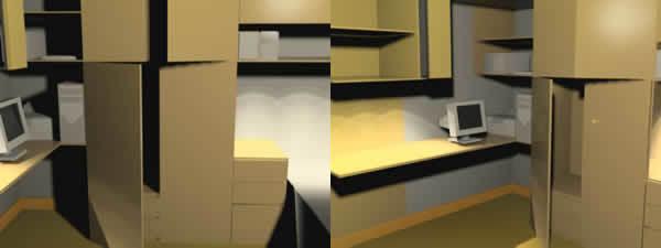 Furnished Office 3D DWG Model for AutoCAD • Designs CAD