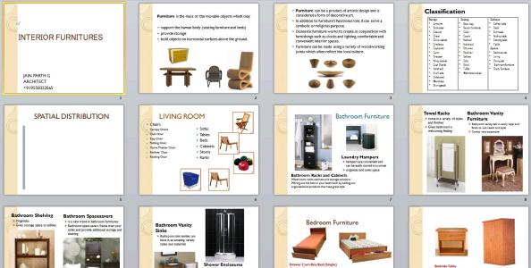 Furniture Styles Ppt Powerpoint, Types Of Furniture Styles