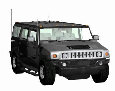 Van - Hummer 3D DWG Model for AutoCAD • Designs CAD