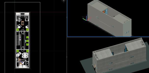 Azuma House Tadao Ando 3d Dwg Model For Autocad Designs Cad