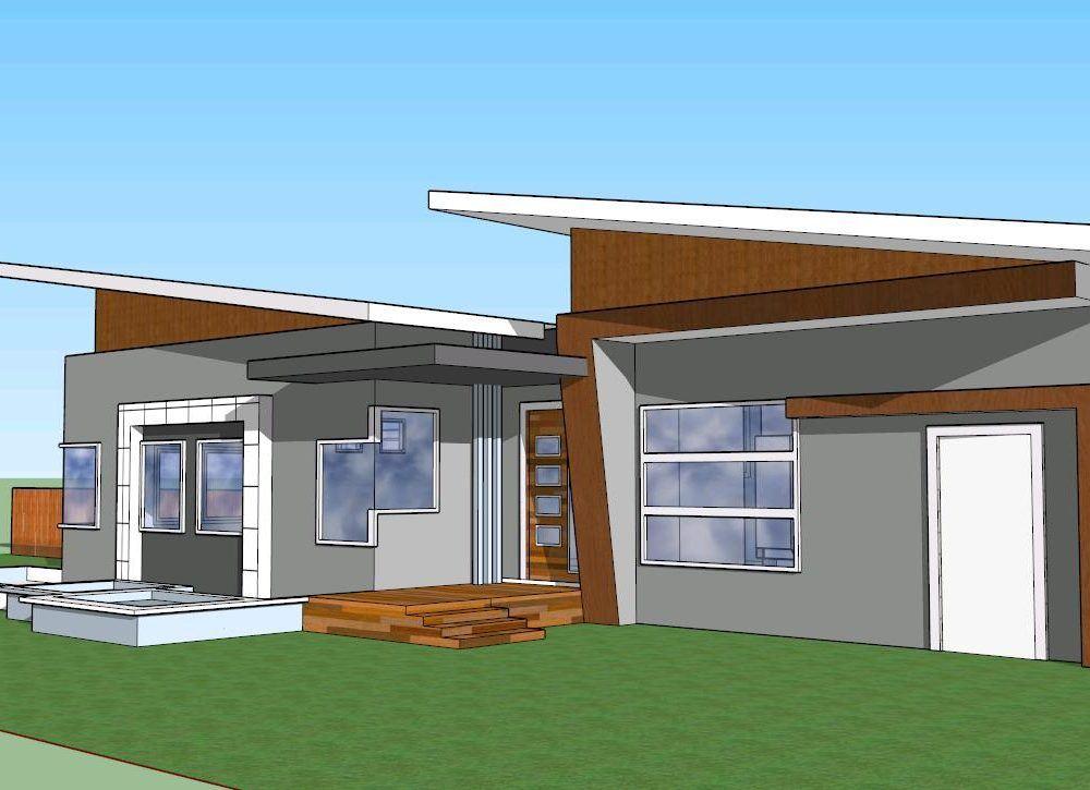 Family House 3D SKP Model for SketchUp • Designs CAD