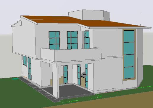 advertisement - 3d Drawing Of House