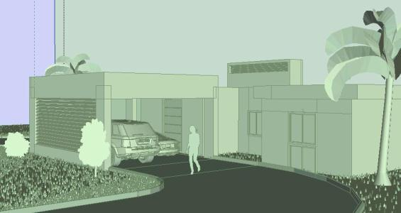Minimalist House 3d Skp Detail For Sketchup Designs Cad