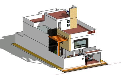 Minimalist House 3d Skp Full Project For Sketchup Designs Cad