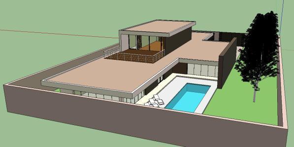 Minimalist House Minimalist Housing 3d Skp Detail For Sketchup