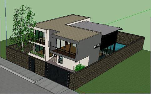 Minimalist House Zip Cad Drawing Designs Cad