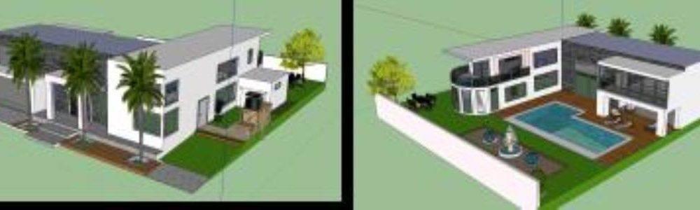 Modeling Minimalist House 3d Skp Model For Sketchup Designs Cad