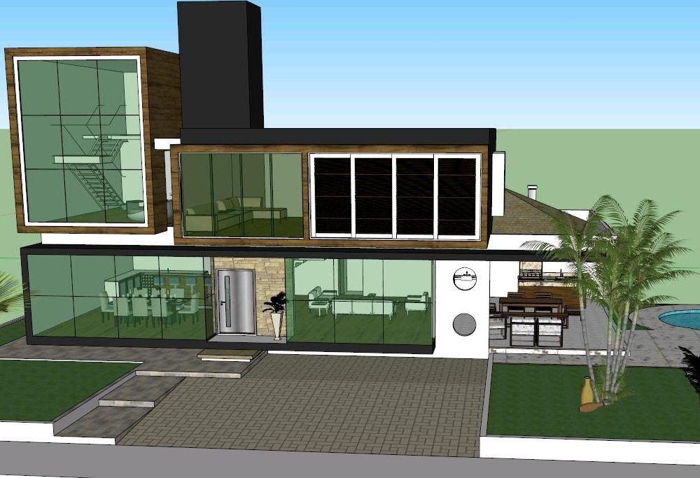 Sketchup Modern House Download - 0425