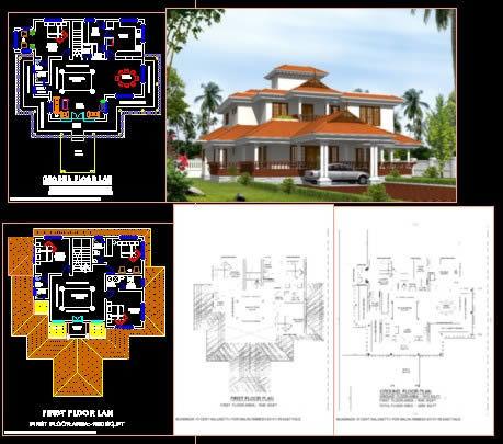 Nalukettu DWG Elevation for AutoCAD • Designs CAD