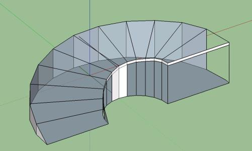 how to make a ramp in sketchup