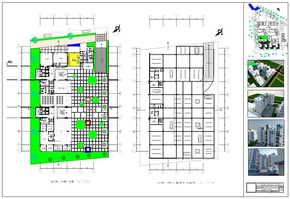Basement Parking Design Pdf residentialcomplex - plans ground floor and basement parking 3d pdf