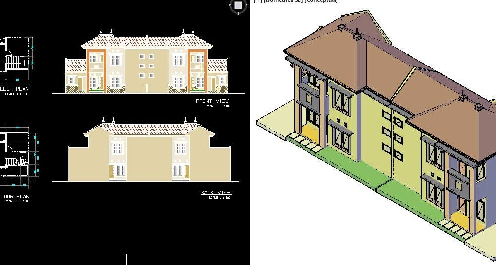 Roebijah Real Estate - Multifamily Building 3D DWG Plan for AutoCAD on house front door colors, house made of windows, house designs floor plan, house designs asian, house design philippines, house designs bedroom, house designs interior, house plans with frontal view, house elevation design, house beautiful front yard landscaping, house designs front entry, house plans for homes with views, luxury living room with city view, house designs exterior, house designs office, house designs green, house beautiful home, house designs modern, house columns designs, house designs basement,