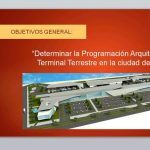 Architectural Programming To Terrestrial Terminal Of Chiclayo PPT PowerPoint Presentation