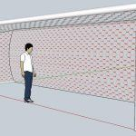 Arco Football Goal 3D SKP Detail for SketchUp