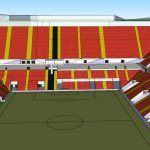 Arena – Stadium Liverpool Standard Chartered – 3D SKP Model for SketchUp