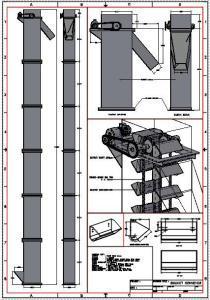 Bucket Elevator Dwg Block For Autocad Designs Cad