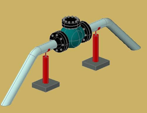 Check Valve 4 3d Dwg Model For Autocad Designs Cad