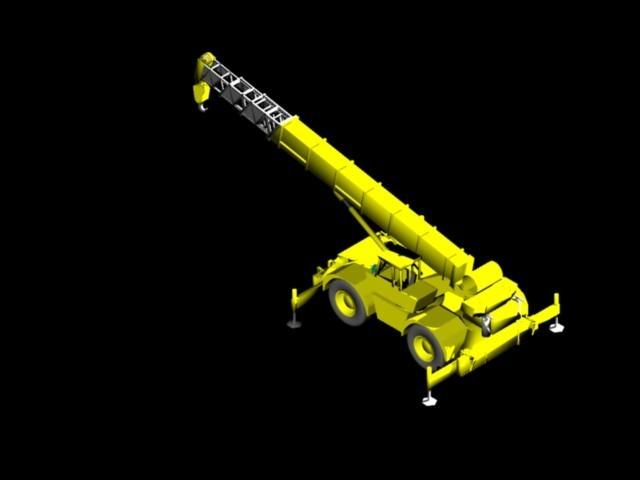 crane 3d dwg model for autocad  u2013 designs cad