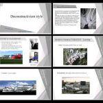 Deconstructivism Style PPT PowerPoint Presentation