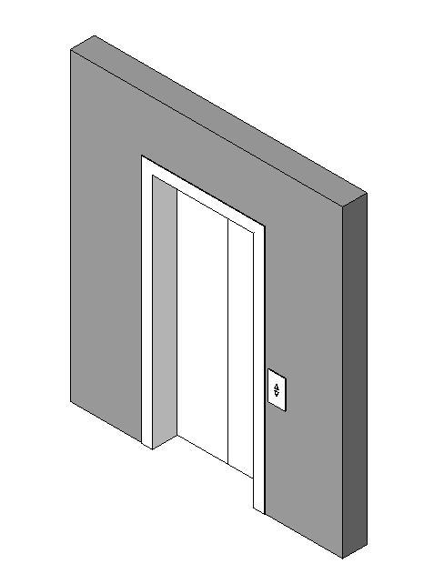 Elevator 3D DWG Model for AutoCAD