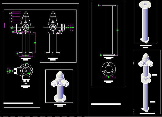 fire_hydrant__installation_details_dwg_detail_for_autocad_28447