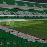 Football Stadium 3D SKP Model for SketchUp