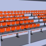 Graderia 800 People 3D SKP Model for SketchUp