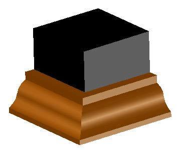 Modeling invested gola dwg model for autocad designs cad - Molduras de madera ...