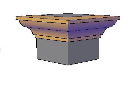 Molds 3d dwg model for autocad designs cad - Molduras de madera ...