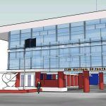National Football Club 3D SKP Full Project for SketchUp