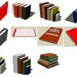 Paper; Notebooks 3D SKP Model for SketchUp