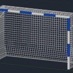 Porteria 3D 3DM Model