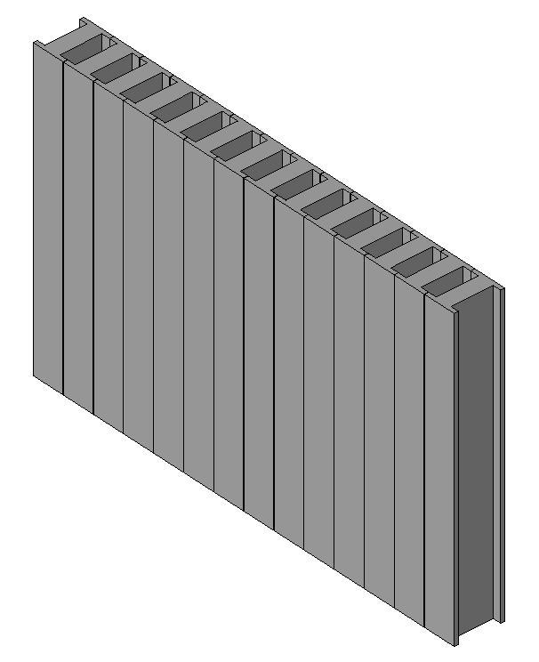 radiator 3d dwg model for autocad  u2013 designs cad