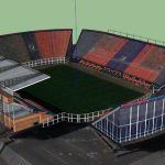 San Lorenzo Stadium 3D SKP Model for SketchUp