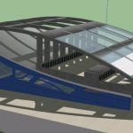 Sports Complex 3D SKP Model for SketchUp