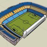 Stadium 3D SKP Model for SketchUp