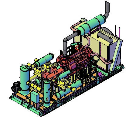 Air Compressor Dwg Block For Autocad Designs Cad