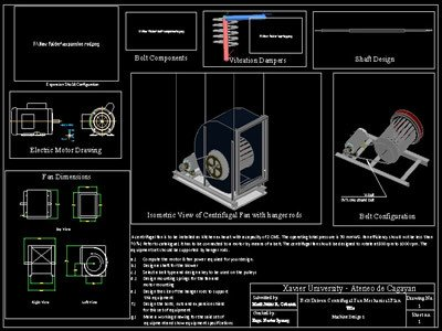 Centrifugal Fan Design Dwg Block For Autocad Designs Cad