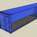 Container Detailed 3D SKP Detail for SketchUp