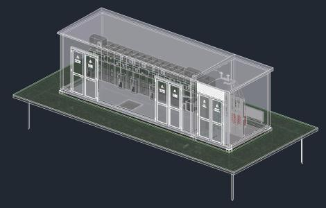 Electrical Protection Medium Voltage Substation Schneider Electric Cells Sm Power Distribution D Dwg Model For Autocad on Autocad Electrical Symbols